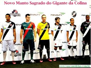 Vasco lança novos uniformes para as temporadas 2012 2013 - Vasco ... b0e7584709a0c