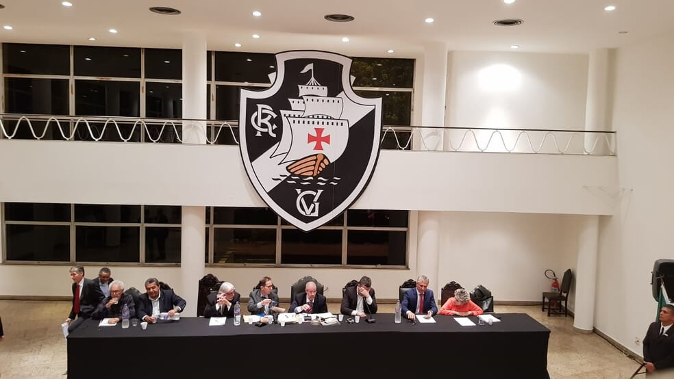 Presidente dos poderes do Vasco