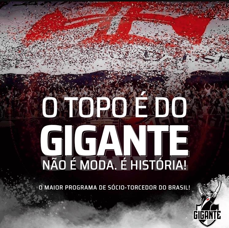 Vasco é o clube com mais sócios no Brasil