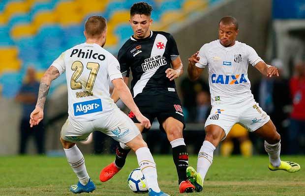 Vasco x Santos - 01 09 2018 - Vasco Notícias 286e214c90ee1