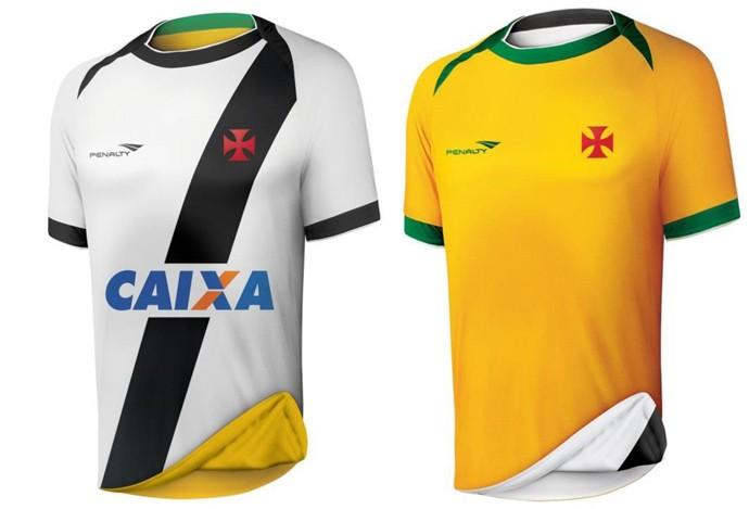 6e1dc26f00 Nova camisa reversível do Vasco Seleção custará R  229