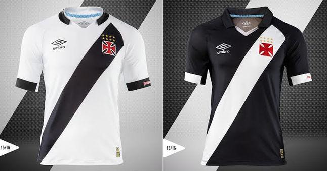 9ec676a3a9ed6 Umbro apresenta as novas camisas do Vasco - Vasco Notícias