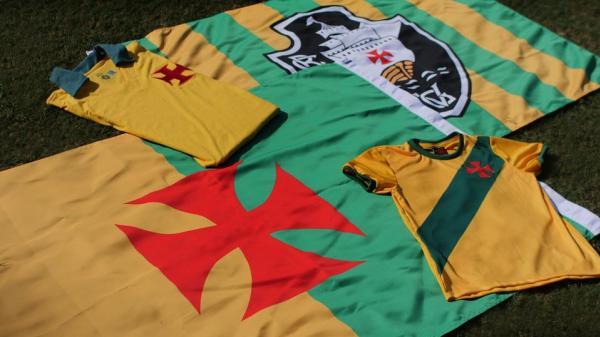 f40f175c93 Camisas e bandeiras do Vascão para a Copa. Bandeira do Vascão para torcer  pelo Brasil