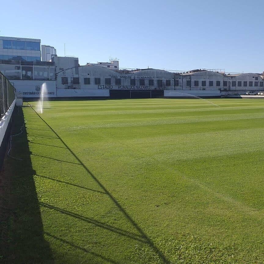 Campo do São Cristóvão tem gramado excelente
