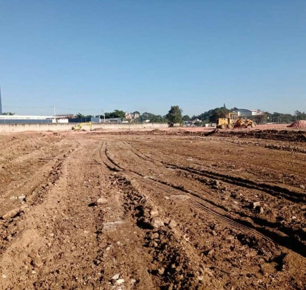 Obras no CT do Vasco em Duque de Caxias