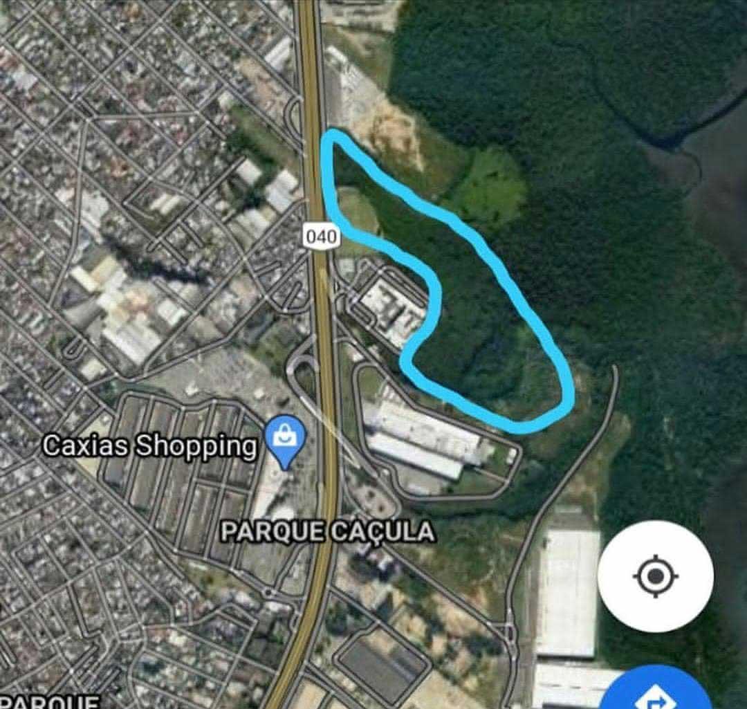 Área do CT do Vasco em Duque de Caxias