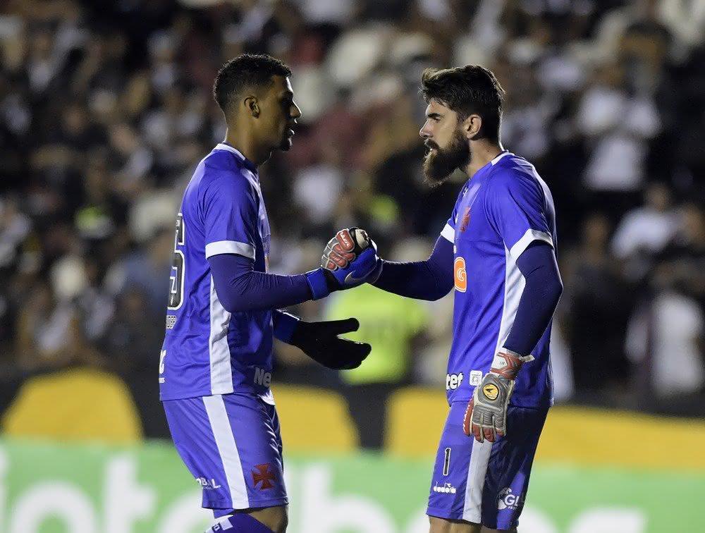 Alexander e Fernando Miguel, goleiros do Vasco