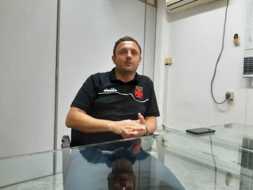 André Mazzuco dirigente do Vasco