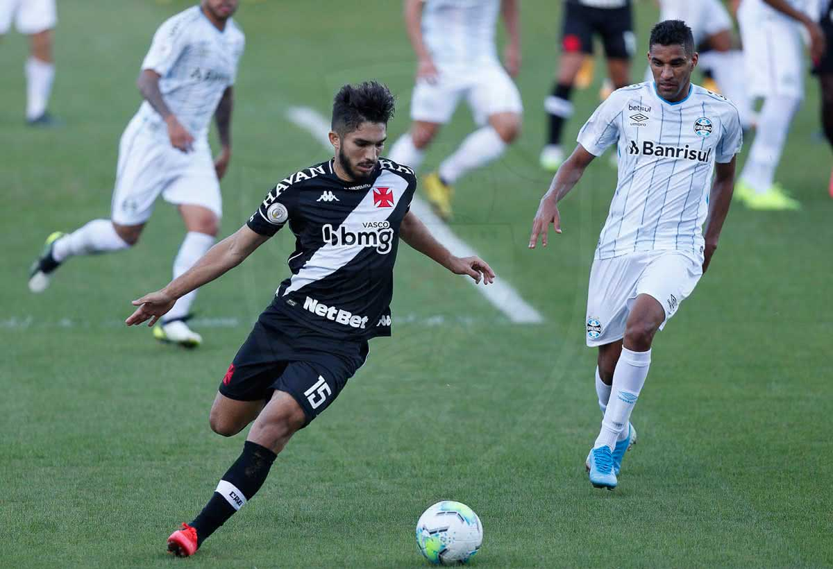 Andrey durante o jogo contra o Grêmio