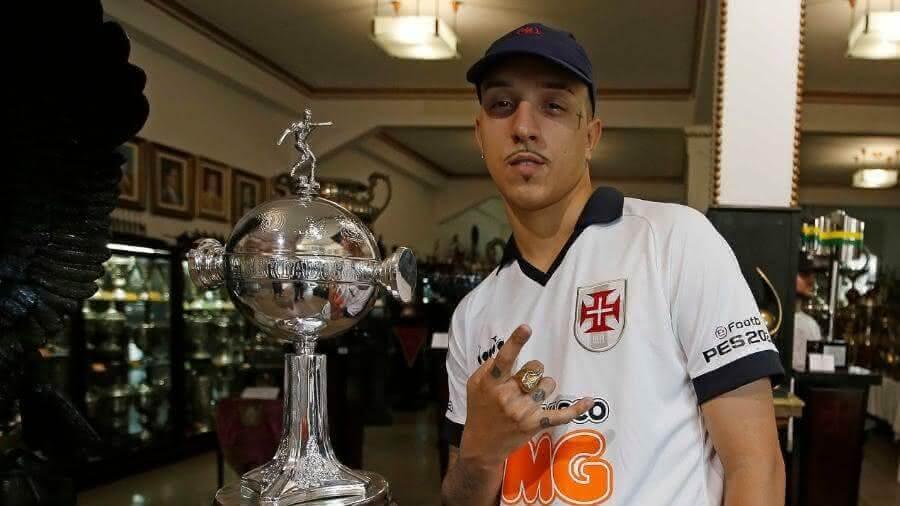 Rapper vascaíno Delacruz