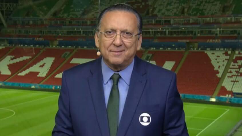 Galvão Bueno elogia momento do Vasco