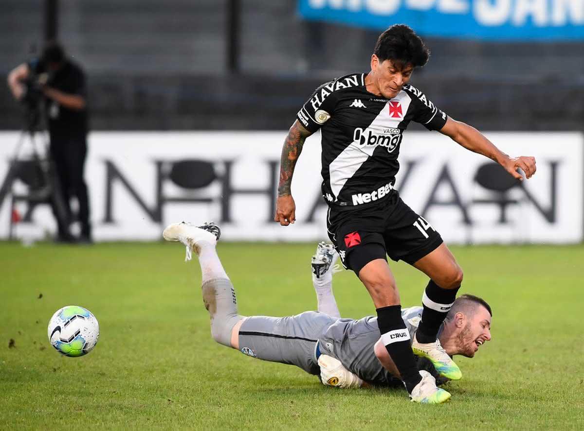 Cano durante o jogo contra o Grêmio