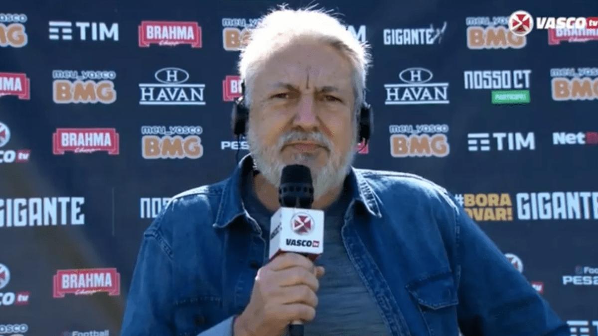José Luís Moreira (Foto: Vasco TV)