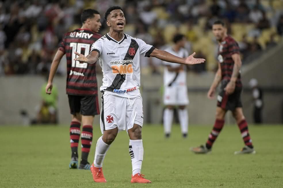 Juninho em campo pelo Vasco