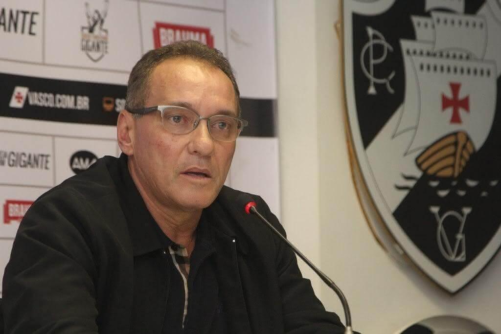 PC Gusmão, coordenador técnico do Vasco