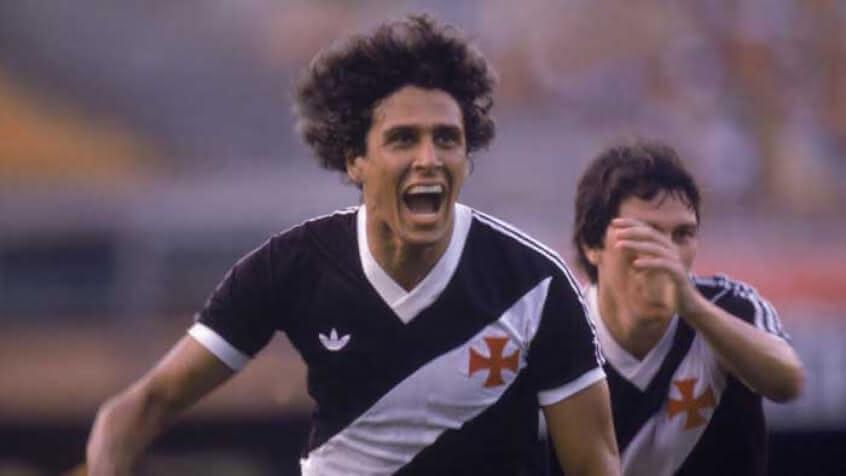 Roberto Dinamite, considerado o maior ídolo da história do Vasco