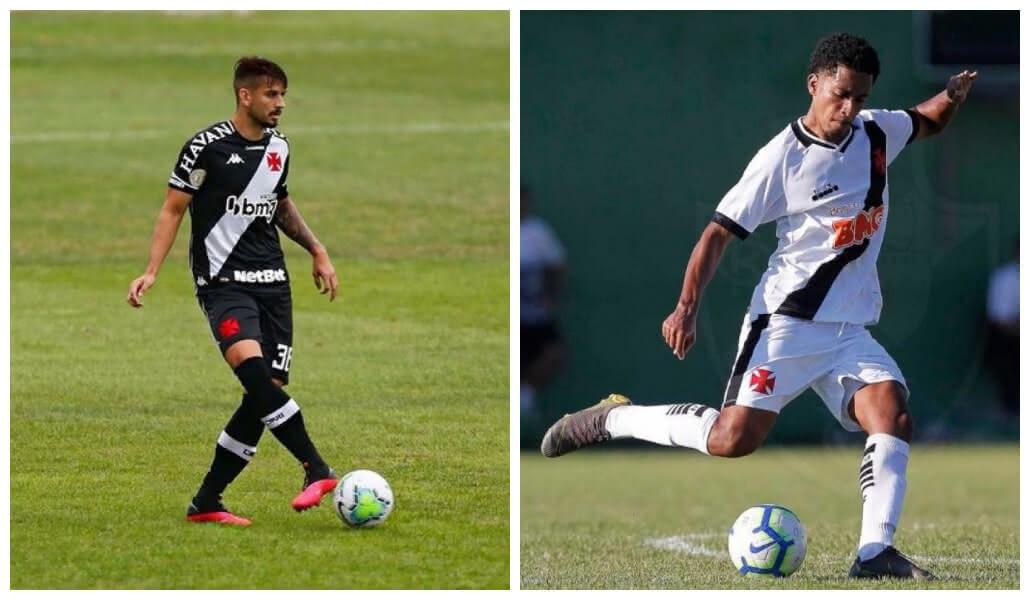 Ricardo Graça e Miranda são oriundos da base do Vasco