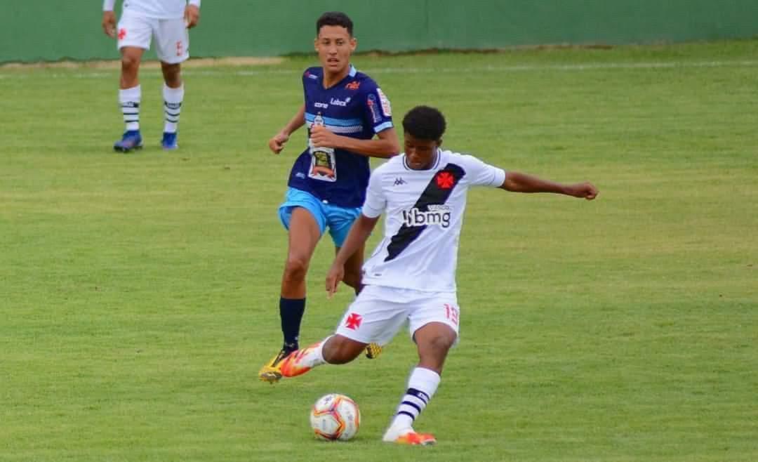 Andrey em ação pelo Sub-20 do Vasco
