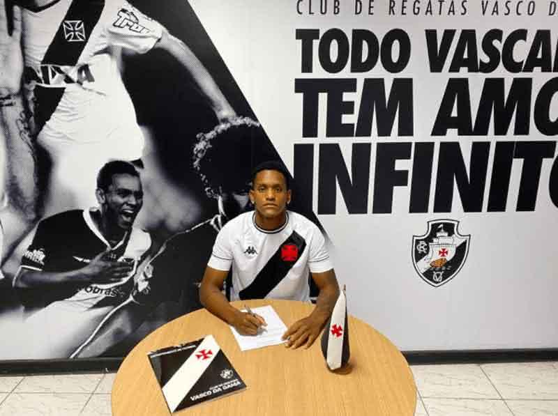 Carlos Yuri, do Sub-20 do Vasco