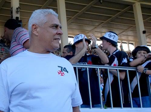 Roberto Dinamite em São Januário