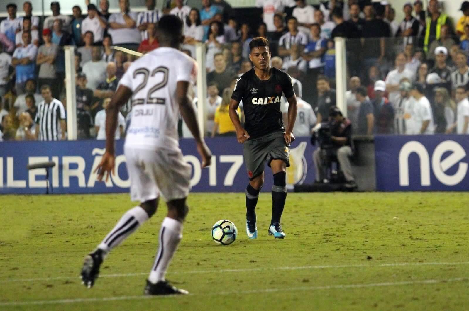 Evander marcou golaço contra o Santos