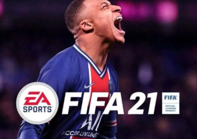 Capa do game Fifa 21, que será lançado em 06 de outubro