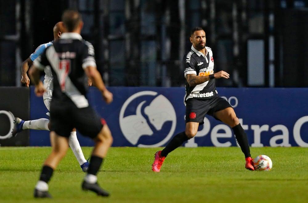 Leandro Castan em partida do Vasco no Campeonato Carioca 2020