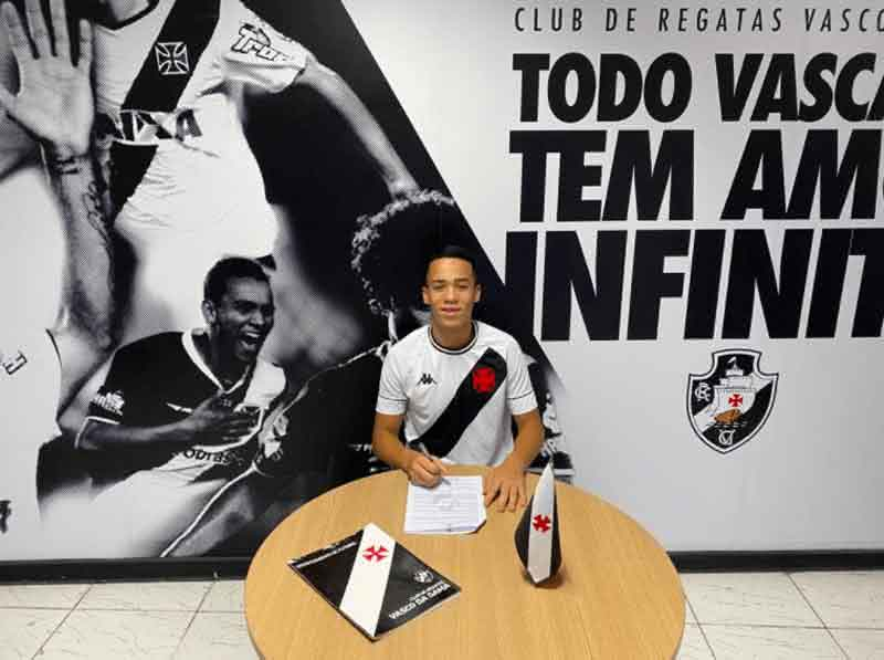Marcão, do Sub-14 do Vasco