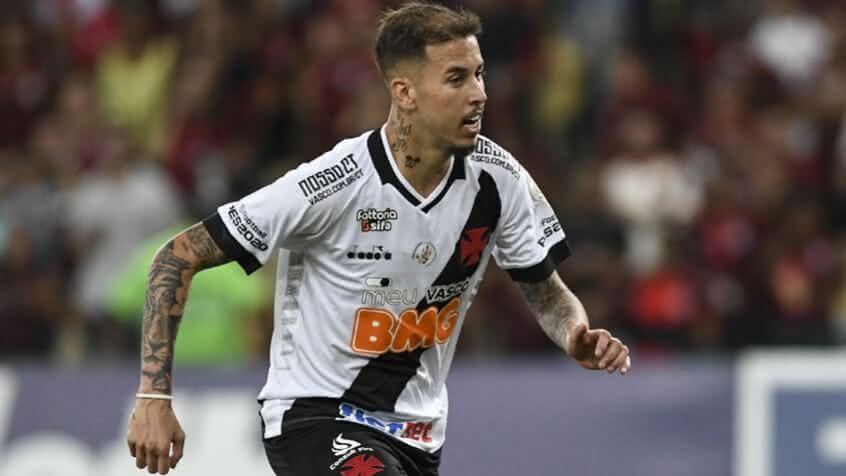 Marcos Júnior jogando pelo Vasco
