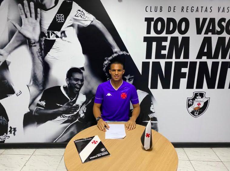 Patrick Paixão assina com o Vasco até 2023
