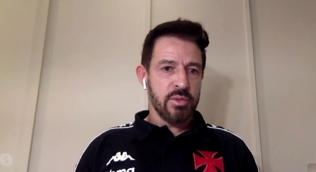 Ramon Menezes durante participação no Bem, Amigos!