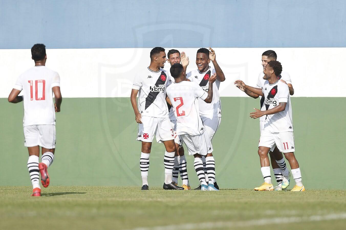 Sub-20 do Vasco vence o Vitória pelo Brasileiro