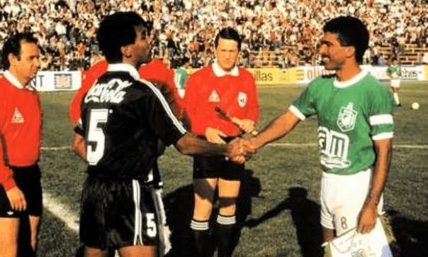 Vasco e Atlético Nacional, em 1990
