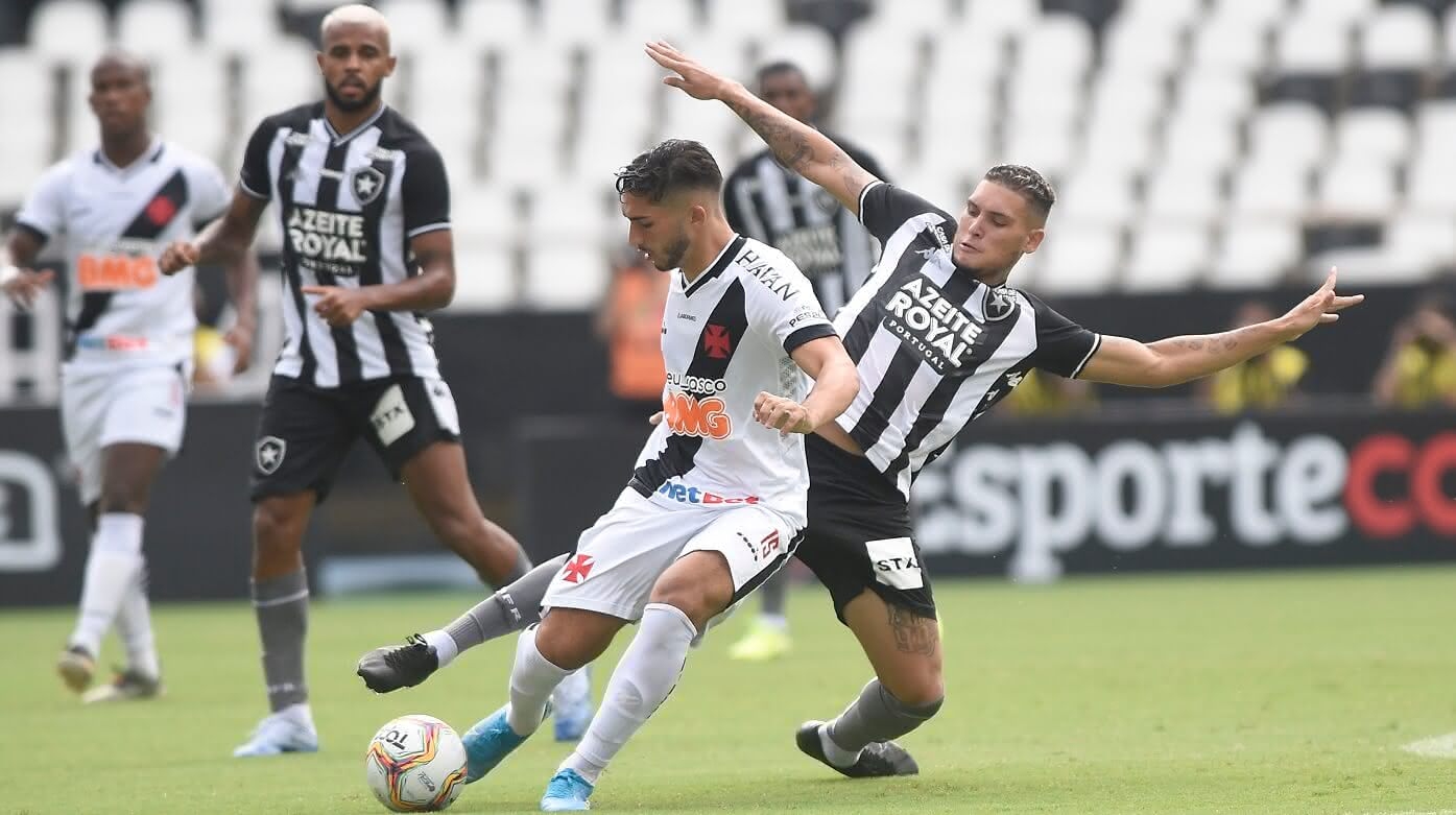 Vasco contra o Botafogo