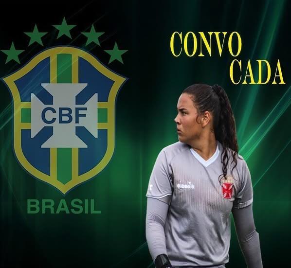 Yasmin Lima convocada à Seleção Sub-20