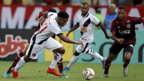 Confronto entre Vasco e Flamengo pelo Campeonato Carioca 2020