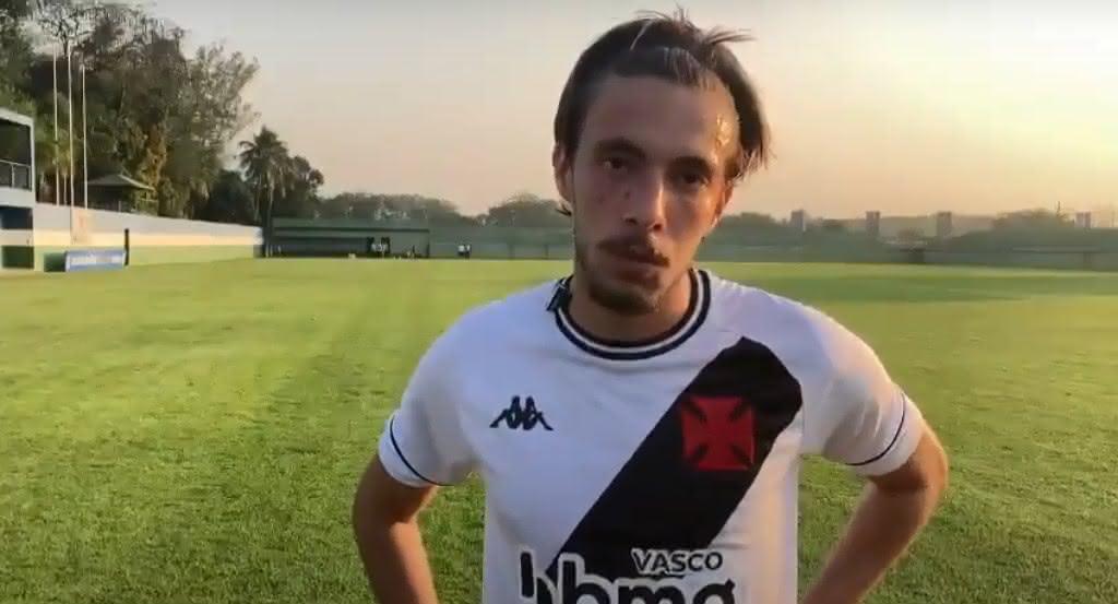Caio Lopes após o empate em 1x1 com o Atlético-MG