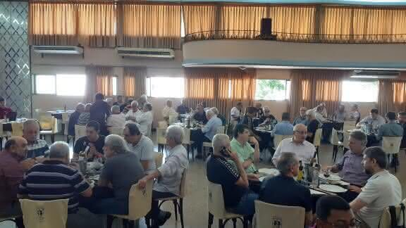 Campello e Sócios em almoço no Rio de Janeiro