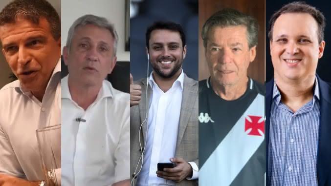 Candidatos à presidência do Vasco