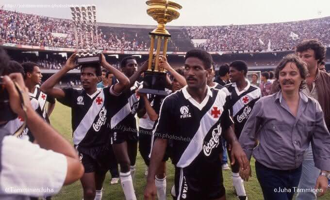 Conquista do Vasco sobre o São Paulo em 1989