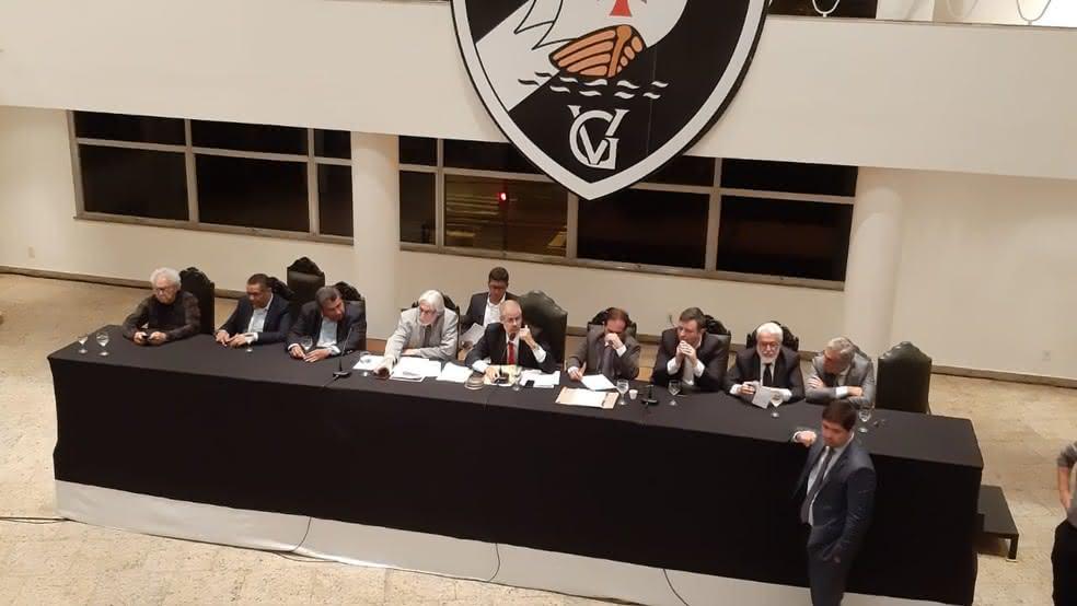Reunião do Conselho Deliberativo do Vasco