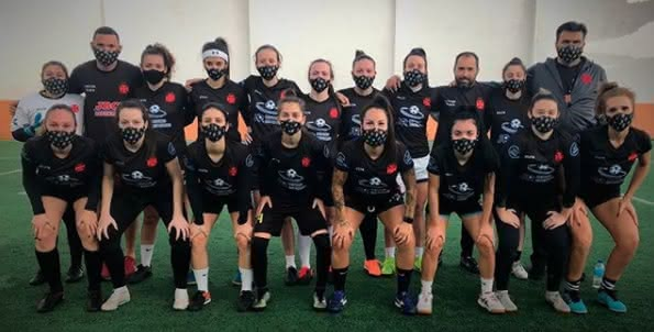 Equipe feminina de Futebol 7
