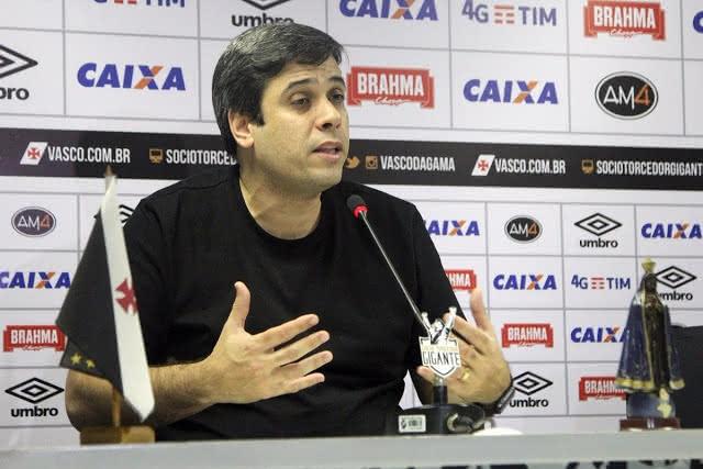 Euriquinho nos tempos de vice-presidente de futebol do Vasco