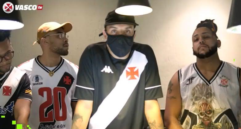 Delacruz fez audição no primeiro episódio do Feat Vasco