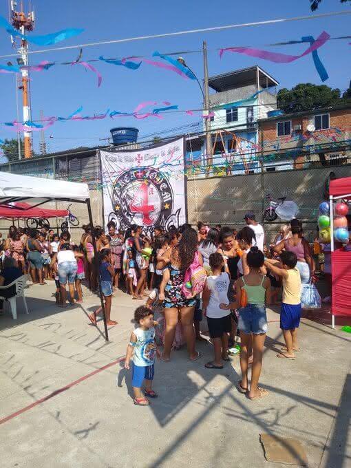 Força Jovem realiza festa em Pavuna