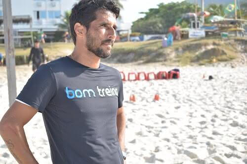 Jorginho, ex-jogador de Beach Soccer do Vasco