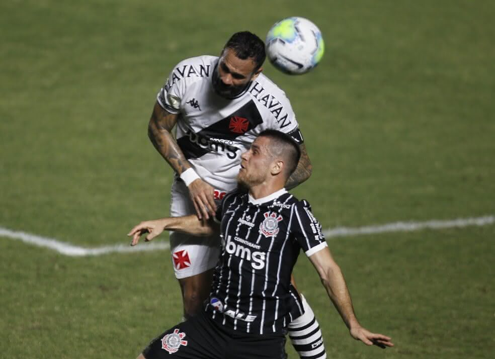 Leandro Castan durante o jogo contra o Corinthians