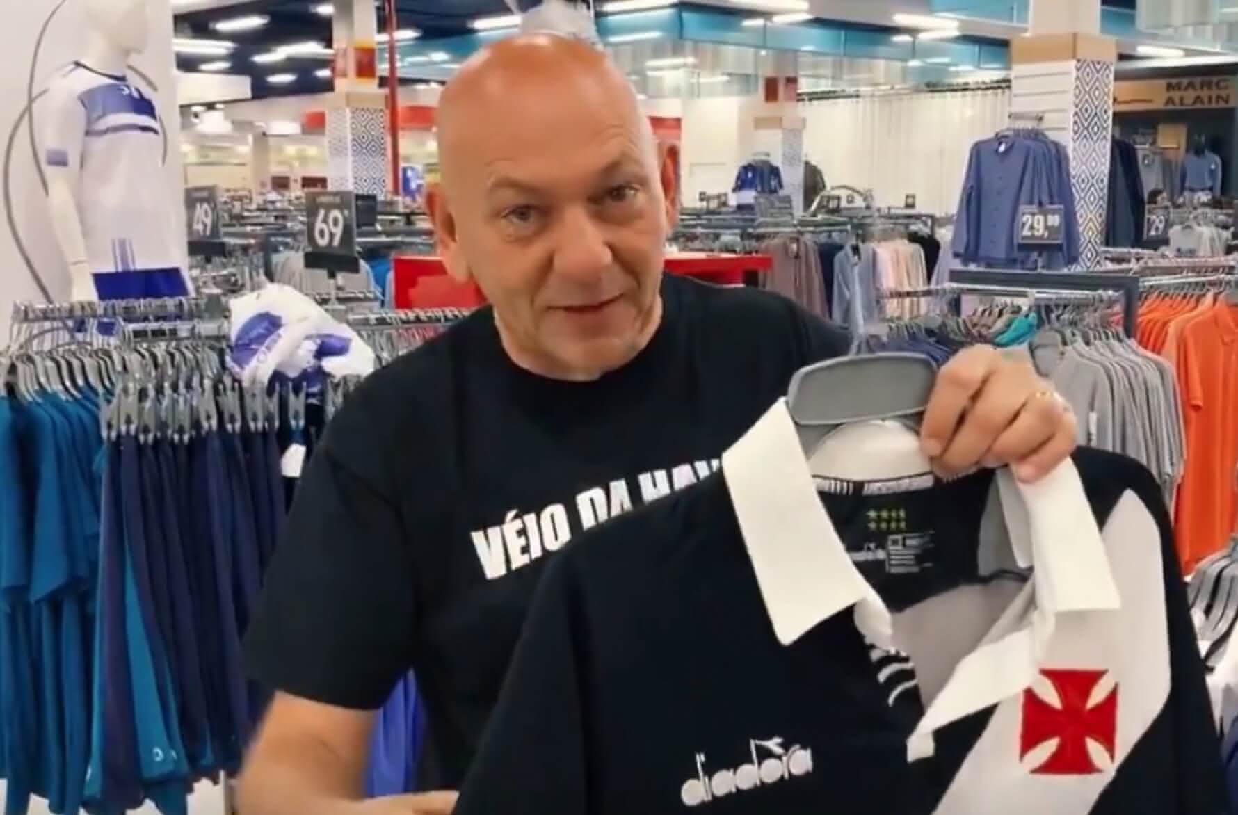 Luciano Hang, Dono da Havan, patrocinadora do Vasco