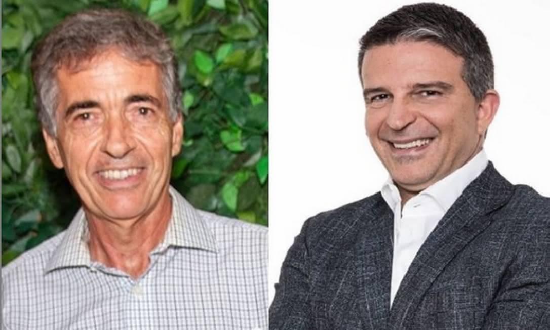 Respectivamente, Luis Manuel Fernandes e Leven Siano