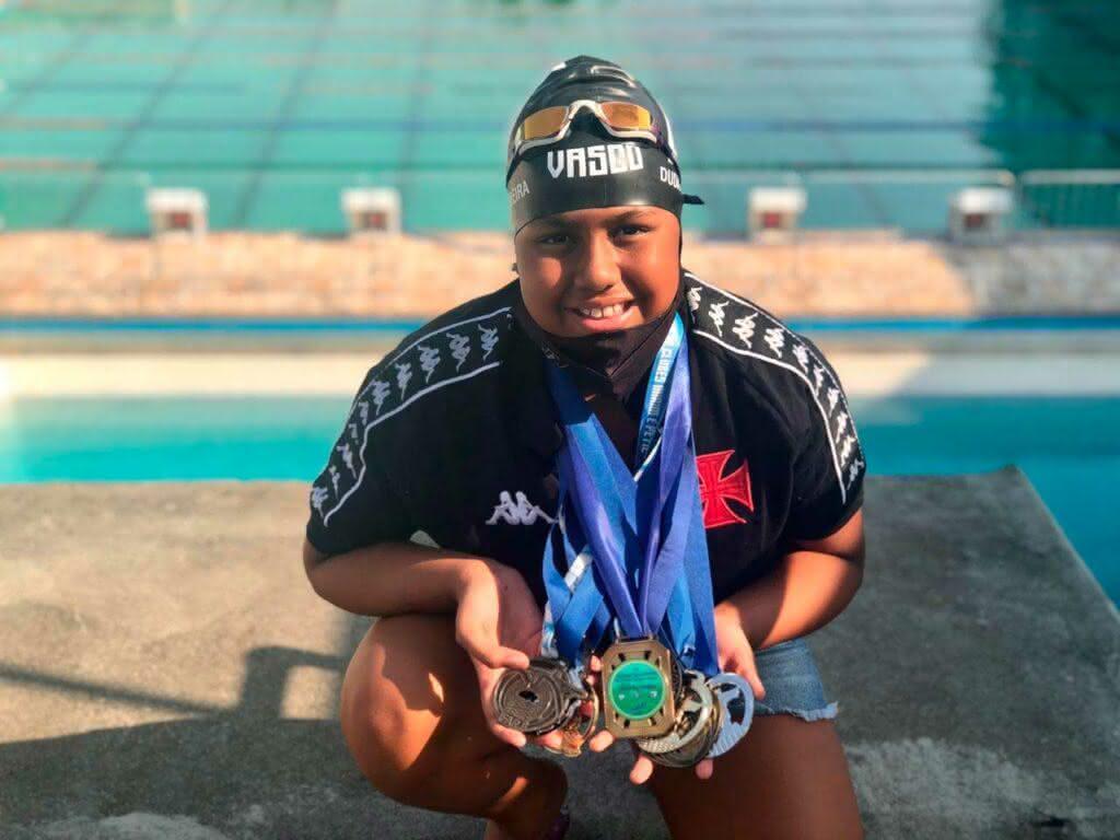 Maria Eduarda atleta do Vasco
